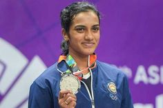 Asian Games P. Sindhu Nets Silver Medal in Badminton Sindhu came out firing in the second game but it was not adequate as the Chinese Taipei player kept collecting points at will. P V Sindhu, National Sports Day, Women's Badminton, Chinese Taipei, Upcoming Matches, Olympic Medals, Latest Trending News, Asian Games, Tokyo Olympics