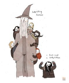This is literally The Hobbit in one image