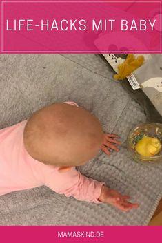 Life-Hacks mit Baby: es gibt ein paar Tricks, die das Elternleben erleichtern. | Mehr Infos auf Mamaskind.de