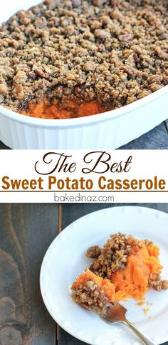 The Best Sweet Potato Casserole                                                                                                                                                                                 More