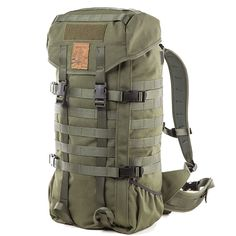 Savotta Jaeger 22 litre Backpack - Olive Green