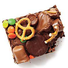 Halloween Candy Brownie