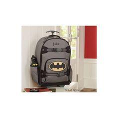 Batman™ Rolling Backpack | Pottery Barn Kids