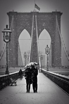 New York is for lovers ... Denny and I having a winter Christmas in NYC 2016