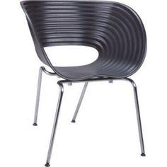 Quadre Design Hemi Krzesło inspirowane Tom Vac czarne