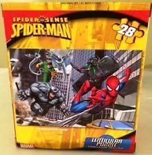 Casse-tête puzzle Spiderman, 28 pièces, 3+ ans. 4.99$  Disponible en boutique ou sur notre catalogue en ligne. Livraison rapide au Québec.  Achetez-le info@laboiteasurprisesdenicolas.ca