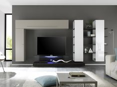 Modern Wall Unit 15 modern tv wall units for your living room | tv units, tv walls