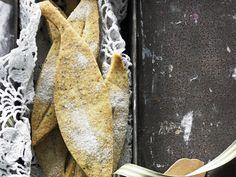 Wattleseed and orange shortbread, orange recipe, brought to you by Australian Women's Weekly