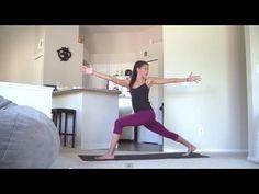 30 minute - Intermediate Yoga Practice - Crow Flow - YouTube
