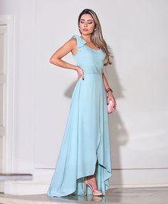 Elegant Dresses, Formal Dresses, Flower Skirt, Party Fashion, Wedding Attire, Frocks, Different Styles, Casual Looks, Blue Dresses