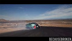 Matt Powers show some real drift skills! First 360 entry in the world.