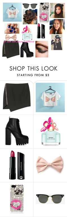 """A walk with Tanya Burr, Zoella and Cutiepiemarzia"" by broarmycryotic-at221b ❤ liked on Polyvore featuring Nicholas, Chanel, Marc Jacobs, Bare Escentuals, Forever 21, Kate Spade and Ray-Ban"