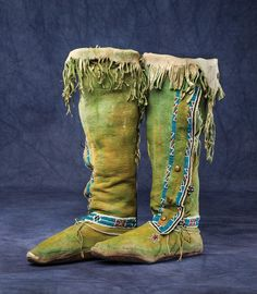Kiowa Moccasins & Leggings
