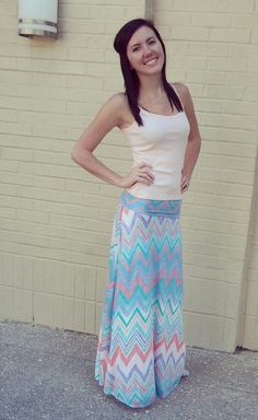Free as we'll ever be maxi skirt!
