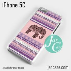 Aztec Elephant (10) Phone case for iPhone 5C and other iPhone devices
