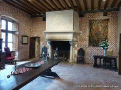 Château du Clos Lucé(37)-La grande salle Renaissance!