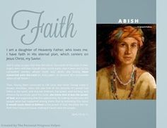 Scriptural Women of Value Poster Abish from The Book of Mormon! Free Download