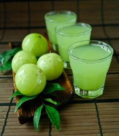 Gooseberry juice. Gooseberries are a tasty fruit that you can eat in raw and as well as in cooked form. It is often used for making jelly or jam.