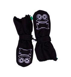 Waterproof gloves for kids with an eco-friendly coating. http://lovegreenhunter.com/2013/12/21/oko-vandfaste-vanter-til-born-2013/