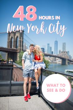 Your 48 hour travel guide and perfect itinerary for travelling to New York City! NYC is an amazing city with lots to see and do, make the most of your trip by reading my travel tips and suggestions. #newyorkcity #travelguide #nyctravel #nyctrip #newyorkcitytravel