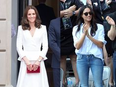 Zwei braunhaarige bürgerliche Schönheiten, die in die britische Königsfamilie einheiraten. So weit, so ähnlich sind sich Herzogin Kate und Meghan Markle. Doch hier hören die Gemeinsamkeiten auch schon wieder auf. Läuft alles weiter wie bisher, wird US-Schauspielerin Meghan Markle (36) wohl bald...