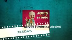 In this free time-lapsed art lesson Cheap Joe's in house artist Julie Davis demonstrates creative ways to combine acrylics and rubbing alcohol. Cheap Joe's G...