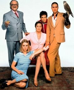 """The Royal Tenenbaums. I loved that movie. James Bowman describe the family as """"charmingly dysfunctional."""" I also loved the house they lived in, especially the tiny closet with board games from top to bottom."""