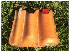 EDC Pocket organizer leather sheath by BushgearLeatherworks
