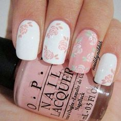 Pastel floral Nail Lacquer