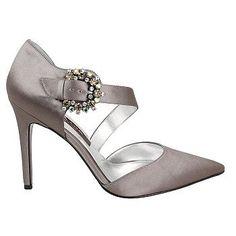 Nina Brezell Shoes (Metal Dust) - Women's Shoes - 7.5 M