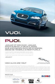 Anche per la presentazione della nuova Jaguar, la concessionaria Biauto di Torino usa la Realtà Aumentata di Ar-code. Scarica l'applicazione gratuita sul tuo smartphone, inquadra la pagina e scopri i contenuti interattivi.  Campagna by Visual solutions.