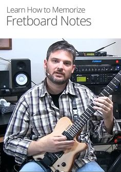 In this intermediate guitar lesson from Derryl Gabel, you'll learn how to memorize the notes on the fretboard.