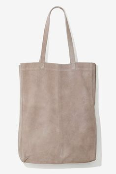Just Female Bay Suede Tote Bag | Shop Accessories at Nasty Gal