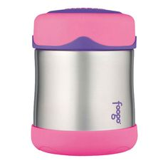 Foogo Insulated Food Container - Pink- This super cute food container is so handy and will keep your food insulated for hours. With a wide opening, it is easy to fill, eat from and clean. It is fantastic for when you are on the go or for the kids to take to school. #bpafree Pizza Rolls, Pink Foods, Food Containers, Toddler Food, Toddler Meals, Baby Meals, School Lunch Box, Lunch Boxes, Cute Food