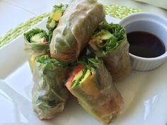 "vegan detox: Sexy Summer ""Spring Rolls"" from Kimberly Snyder Raw Food Recipes, New Recipes, Vegetarian Recipes, Healthy Recipes, Soup Recipes, Healthy Cooking, Healthy Eating, Beauty Detox, Vegan Detox"