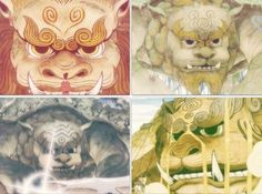 The Legend of Korra: lion turtles fire air water earth
