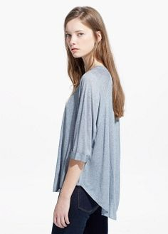 Cashmere-blend t-shirt