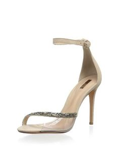 New Women Leather SCHUTZ Fatmanur Ankle Strap Sandal US 7.5(B)M Original $240