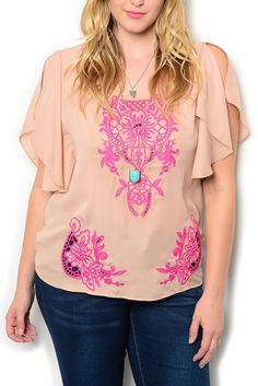 http://www.dhstyles.com/Taupe-Pink-Plus-Size-Girly-Trendy-Sheer-Embroidere-p/wapi-2120x-taupe-pink.htm