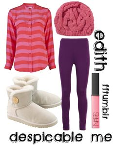 Despicable Me -- Edith  sc 1 st  Pinterest & Edith from despicable me | Pinterest | Costumes Polyvore and ...