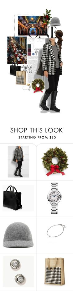 """""""Untitled #2390"""" by duchessq ❤ liked on Polyvore featuring Nameless, Tory Burch, Zara, Cartier and STELLA McCARTNEY"""