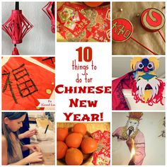 Top Ten Things to Do for Chinese New Year