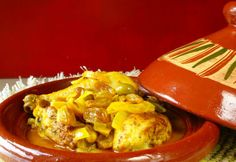 Looking for a Moroccan Tagine of Chicken with Prunes, Apricots, and Almonds recipe? Get great family cooking recipes for kids and adults. Recipes for Moroccan Tagine of Chicken with Prunes, Apricots, and Almonds are great to make with the whole family. Kids Cooking Recipes, Slow Cooker Recipes, Tajin Recipes, Chicken Couscous, Middle Eastern Recipes, Almond Recipes, Slow Cooker Chicken, International Recipes, Turkey Recipes