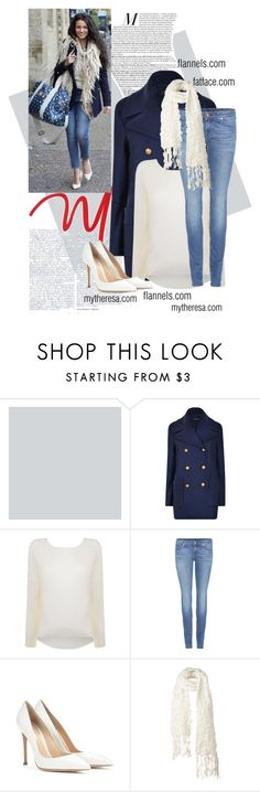 """""""Get The Look- Michelle Keegan x"""" by x-sophie-bates-x ❤ liked on Polyvore featuring Joseph, Helmut Lang, 7 For All Mankind, Gianvito Rossi and Fat Face"""