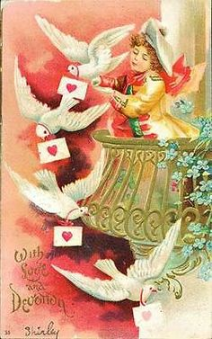Made In Santa's Workshop Disney Store Exclusive Jolly Tree Trimmers 1993 Victorian Valentines, Vintage Valentine Cards, Valentine Day Cards, Vintage Cards, Vintage Postcards, Christmas China, Family Christmas, Christmas Holidays, Winter Wonderland Christmas