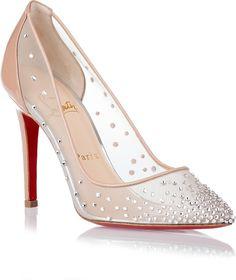 christian louboutin replica heels - Wedding shoes on Pinterest | Christian Louboutin, Swarovski ...