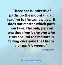 R u on the right path