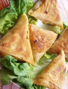 "Moroccan ""Briouat"" recipe : mmm look yummy"