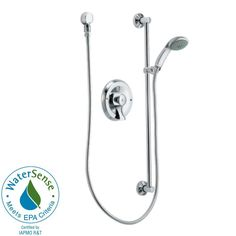 MOEN 1-Spray Eco-Performance Handheld Shower System in Chrome-8346EP15 - The Home Depot