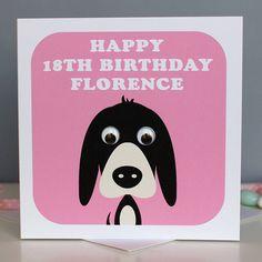 personalised animal birthday card by stripeycats   notonthehighstreet.com